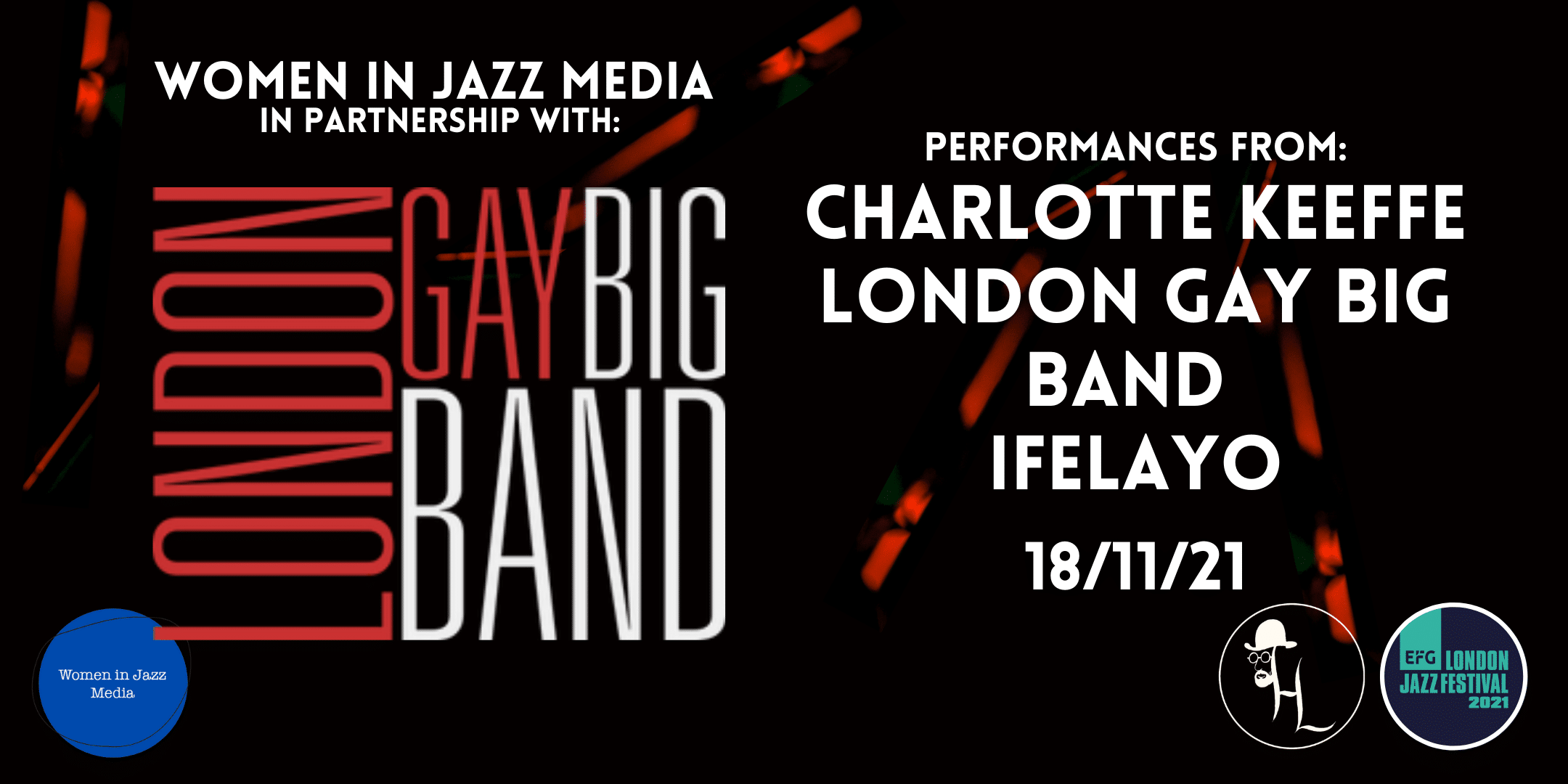 Line Up for the London Big Gay Band Take Over